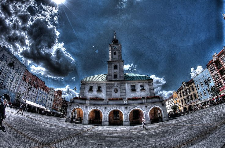 Gliwice Market Square and Town Hall