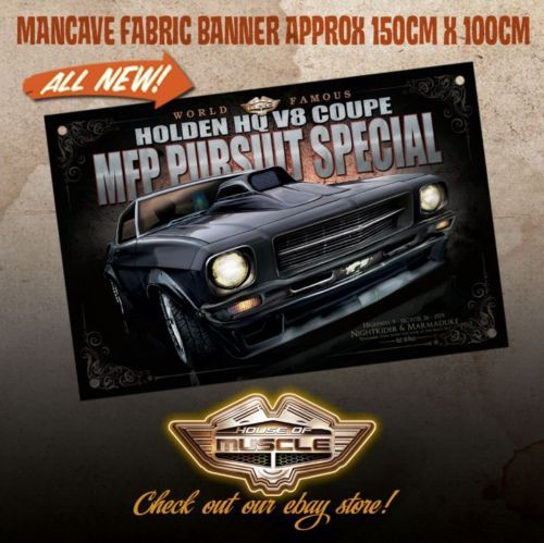 HOLDEN-HQ-MONARO-MFP-PURSUIT-SPECIAL-MAD-MAX-LARGE-BANNER-NIGHTRIDER
