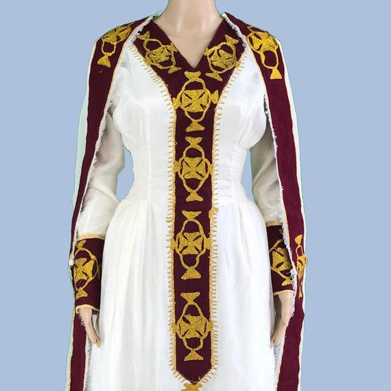 Ethiopian Dress. Traditional Habesha Kemis, Women's