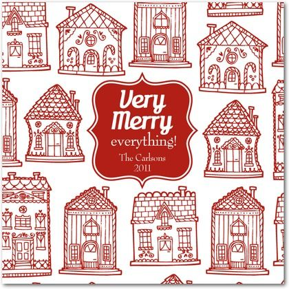 gingerbread houses Christmas Photo Cards Christmas, Holiday