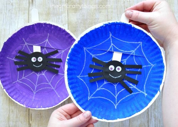 how to make a spider web with paper