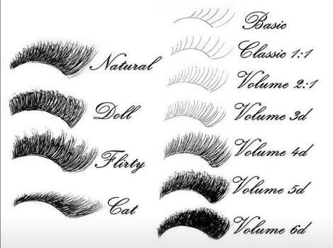Classic lashes, Volume Lashes and Lash styles for the true Lash Maker!
