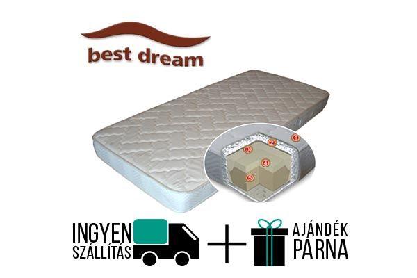 A Best Dream Memory Duet egy 20 cm magas memóriahabos vákuummatrac. A matrac félkemény és 130 kg-ig terhelhető. 5 cm memory komfort réteget tartalmaz.  http://matracom.hu/termekek/memoriahab-matrac/best-dream-memory-duet-memoriahab-vakuum-matrac/