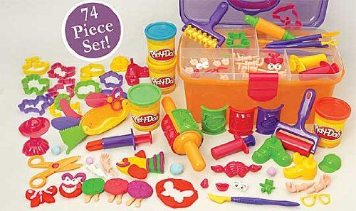 Play Doh Clay Center With Storage Case Constructive