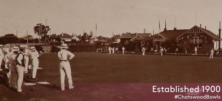 By 1900 the site of the present day club had been acquired, a pavilion built and a green constructed ready for bowling.