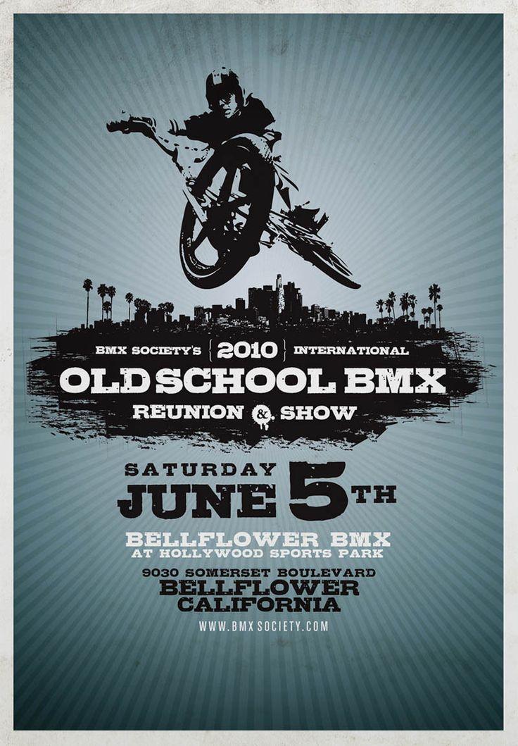 Crank King Vintage & Old School BMX Clothing - Kuwahara, Hutch, Redline, Mongoose: BMX Society Old School Reunion & Show