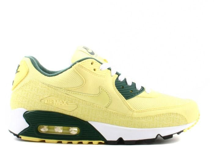 Cheap Lastet Air Max 90 Black Forest Frost Lemon Powerwall Sneakers Shoes  and Nike Air Max