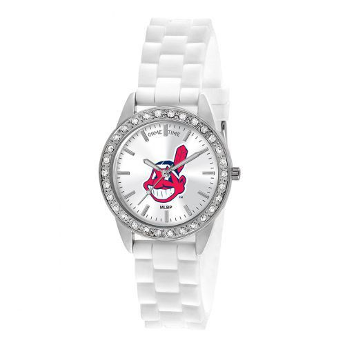 Cleveland Indians Ladies Frost Watch By Game Time