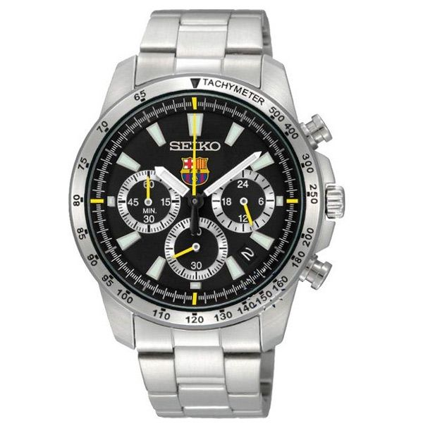 SEIKO Chronograph F.C.BARCELONA Special Edition Stainless Steel Μοντέλο: SSB073P1 Η τιμή μας: 231€ http://www.oroloi.gr/product_info.php?products_id=28896