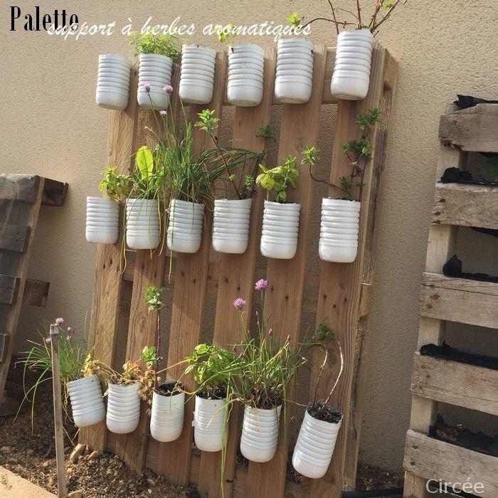 ... Jardin Dherbes Aromatiques sur Pinterest  Palette jardin, Jardinage