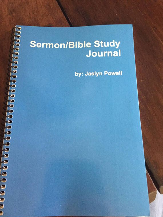 BIBLE STUDY ORGANIZER & NOTEBOOK By Jerold Potter