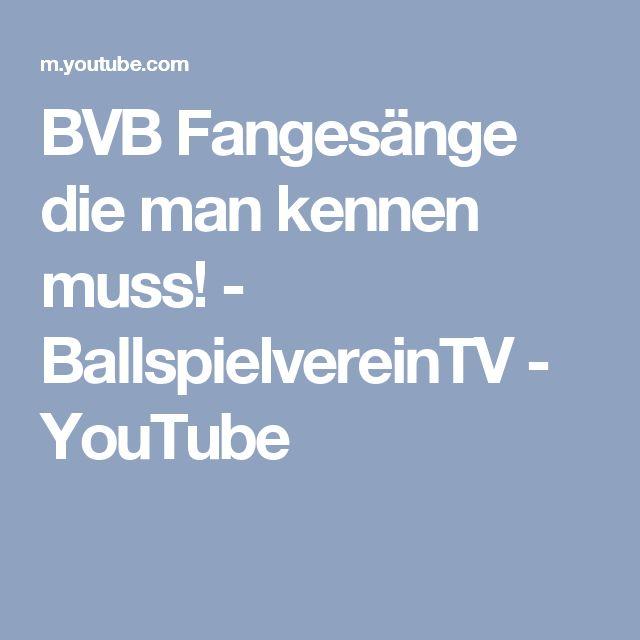 BVB Fangesänge die man kennen muss! - BallspielvereinTV - YouTube
