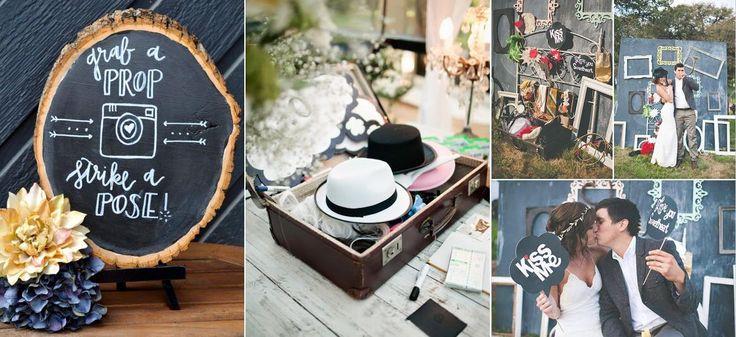 Je ziet het steeds vaker terug komen op een bruiloft; een photobooth!   Wat vinden jullie ervan? Zouden jullie het op je bruiloft willen hebben? Zo ja, wat zouden jullie voor props doen?   Wij vinden het persoonlijk een super leuk en grappig element. Wij zouden graag jullie mening willen horen, laat een berichtje achter!