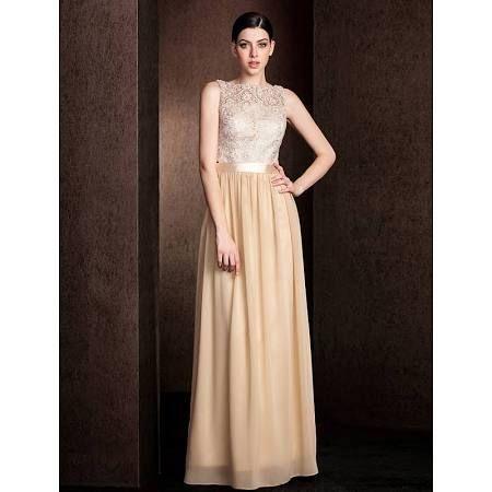 bridesmaid dresses champagne - Google Search