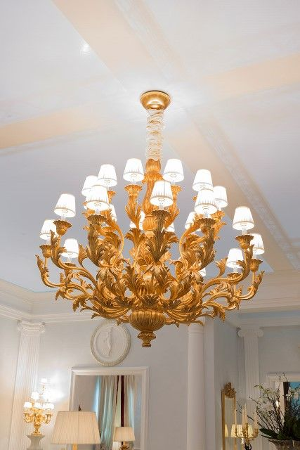 24 lights chandelier