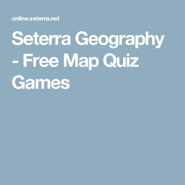 Seterra Geography - Free Map Quiz Games