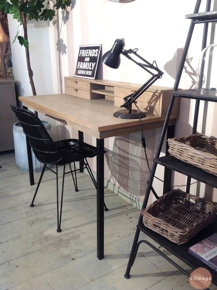 madera y metal la combinacin perfecta para tu escritorio o mesa de despacho en