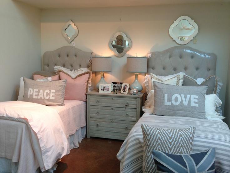 Girls boys twin beds too cute kid 39 s room - Boy and girl room ideas ...