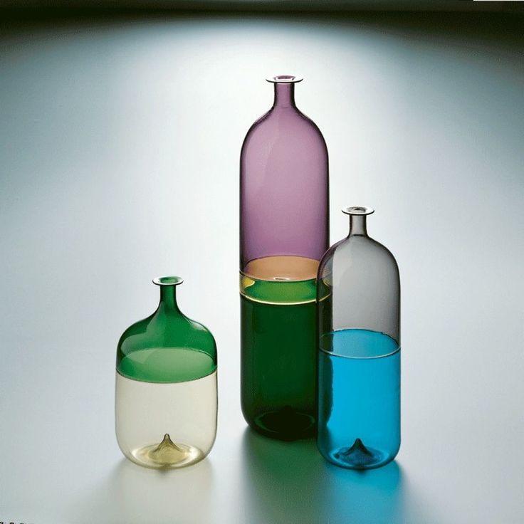 Art glass by Finnish designer Tapio Wirkkala for Venini in Murano – Venice.