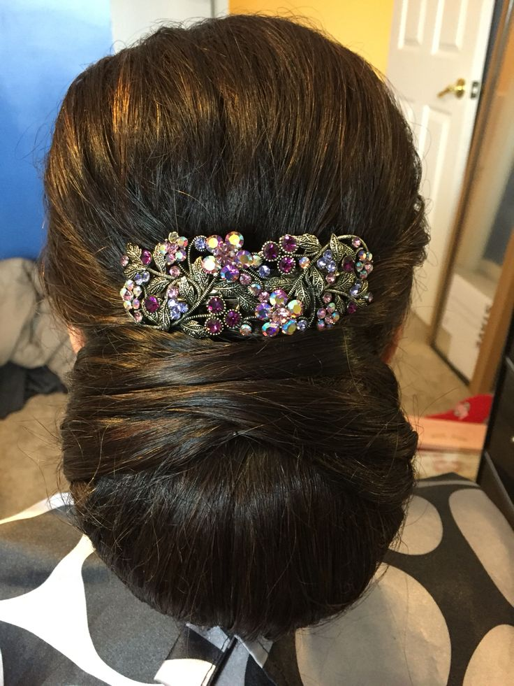 Mother Of The Bride Hairstyle Indian Hairstyle Low Bun