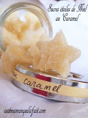 Petits sucres aromatisés aux saveurs de Noël