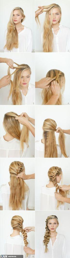 Hair Tutorial in steps