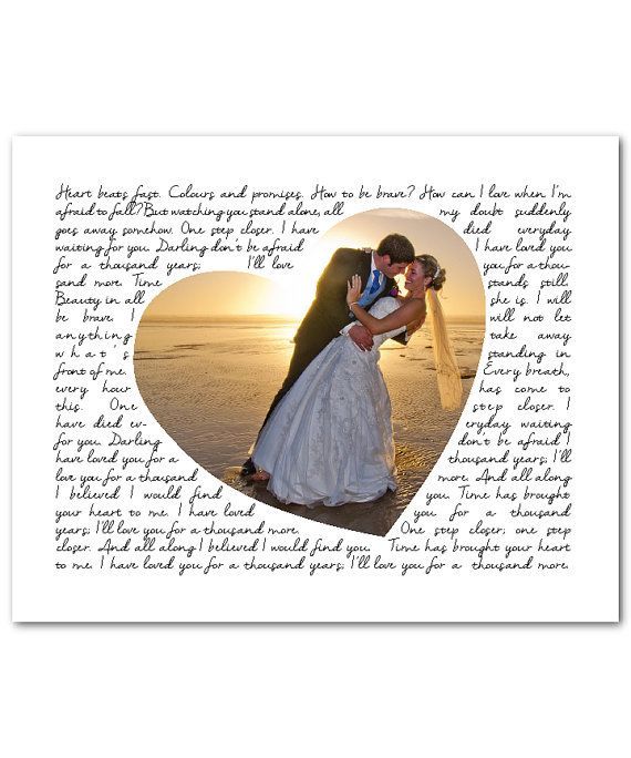 Unique Wedding Gift for couple  Personalized Wedding Song