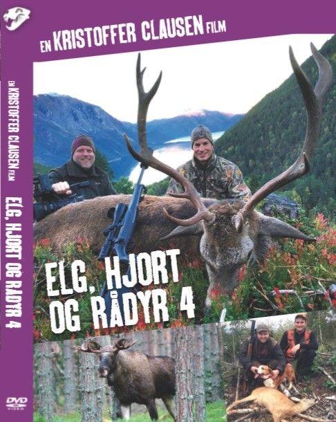 Elg, hjort og rådyr 4 er en film om elgjakt med løshund, rådyrjakt med hund og hjortejakt i Norge. 4 filmen i denne populære serien.