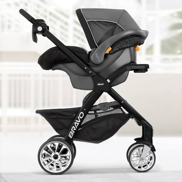 Product Image for Chicco® Bravo® LE Trio Travel System in Genesis 5 out of 5