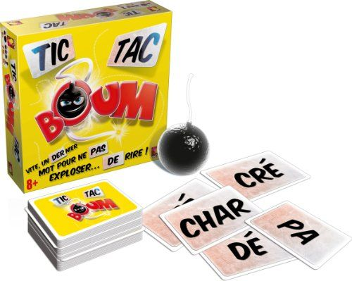Asmodee – TTB01S – Jeu d'ambiance – Tic Tac Boum | Your #1 Source for Toys and Games