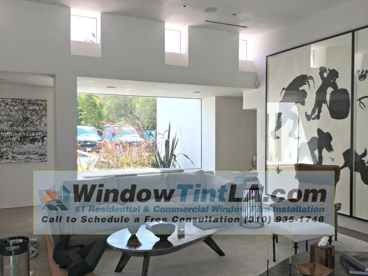 Residential house tinting
