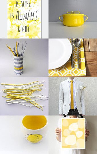 Yellow by Aliquid on Etsy--Pinned with TreasuryPin.com
