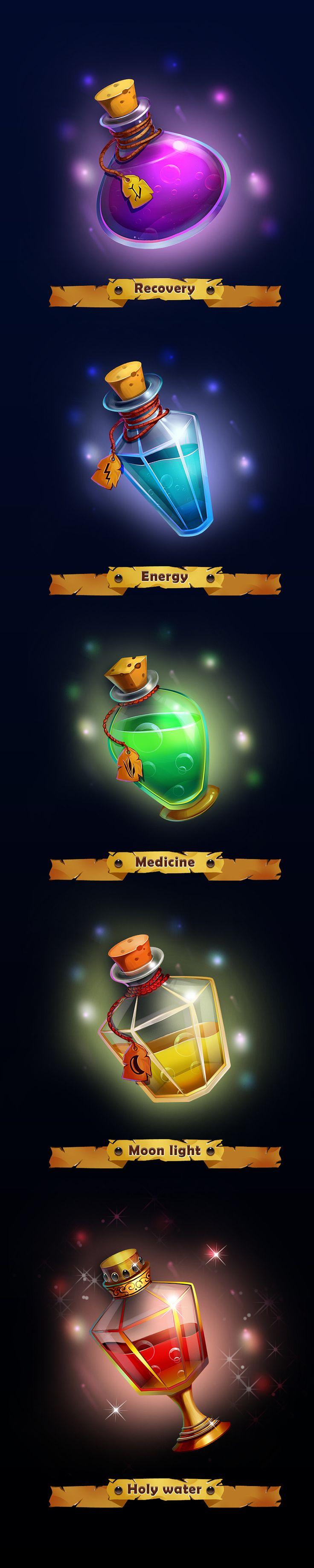 Different vials