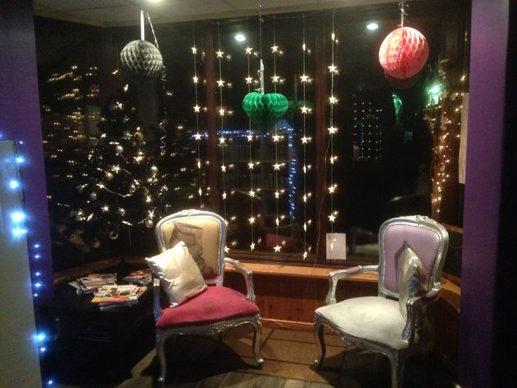 Christmas arrives in the salon.............