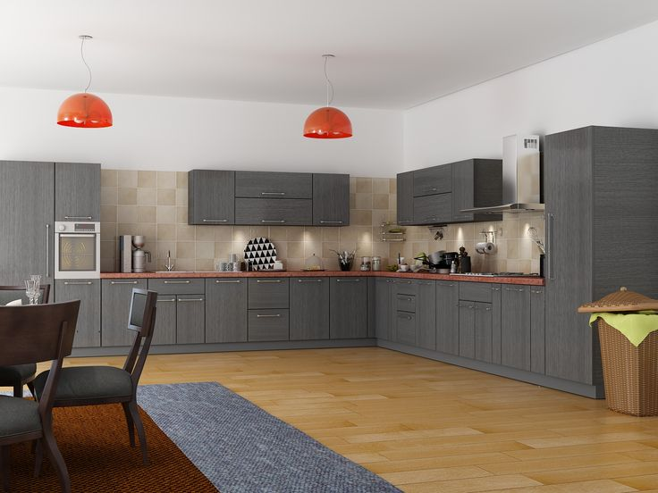 Customfurnish com modern l shaped kitchen ideas