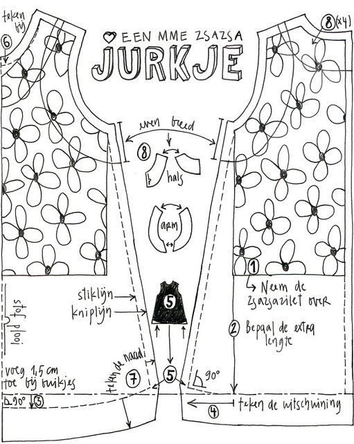 Jurkje by Mme Zsazsa, via Flickr