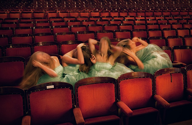 The spectators by Miss Aniela, via Flickr