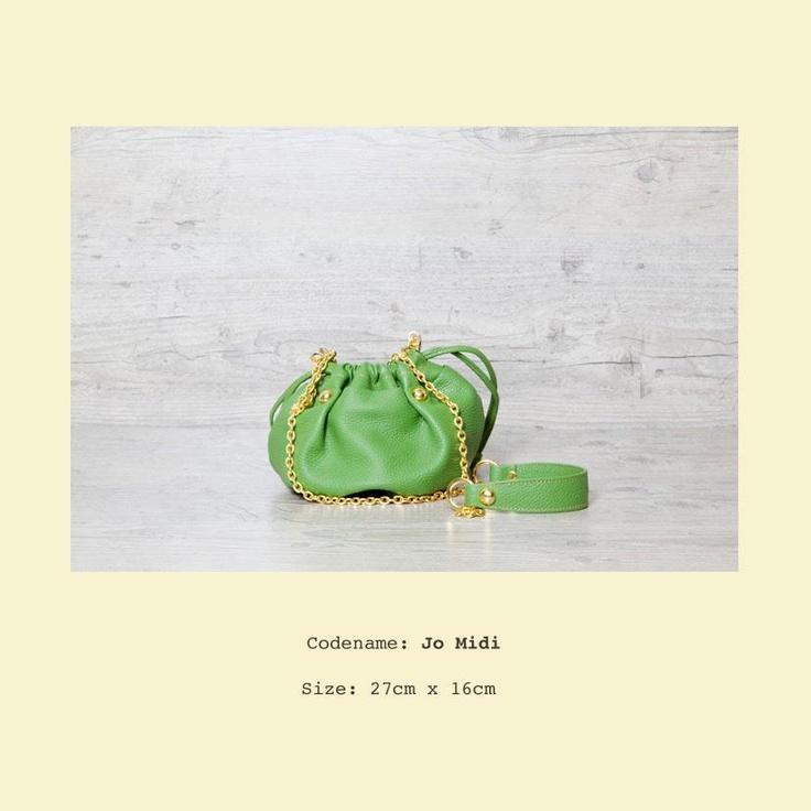 Jo Midi in happy green