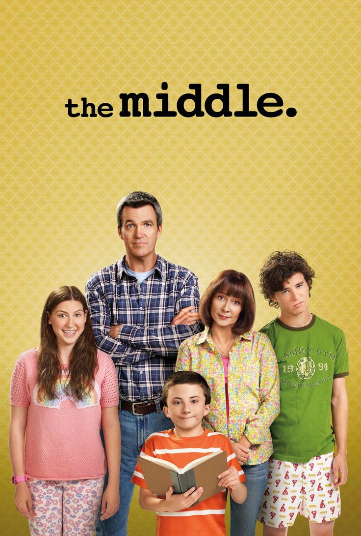 The Middle:  one of the sweetest and most underrated shows on television.