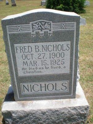 Fred B Nichols