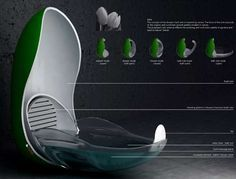 Futuristic Shower Pods - The Tulip Tub is the Future of Cleansing (GALLERY)
