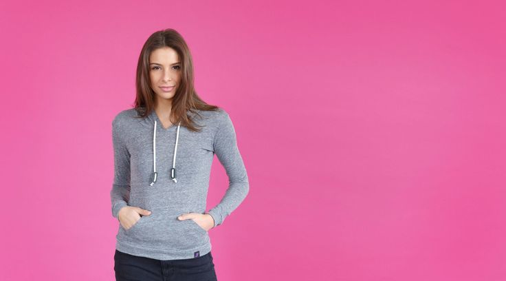 The Kickboxer // Eco Jersey Pullover Hoodie