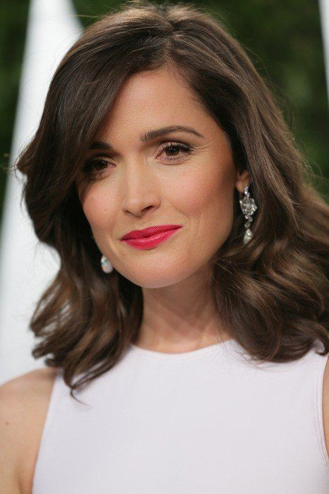 Rose Byrne. brunette, medium length wavy bob