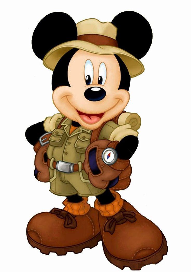 Festa Mickey Safari - imagens e fundos para personalizar! | Guia Tudo Festa - Blog de Festas - dicas e ideias!