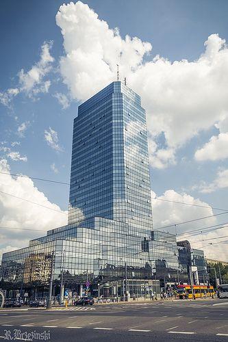 Błękitny Wieżowiec   Flickr - Photo Sharing!