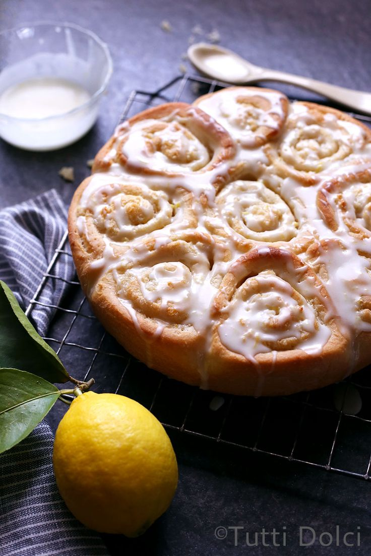Almond-Lemon Rolls   Tutti Dolci