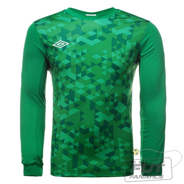 Camisa Umbro Goleiro Graphic Verde M/L
