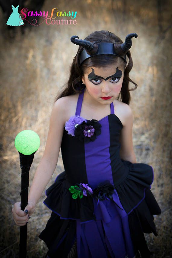 Disfraz Maléfica traje negro Maléfica traje púrpura villano