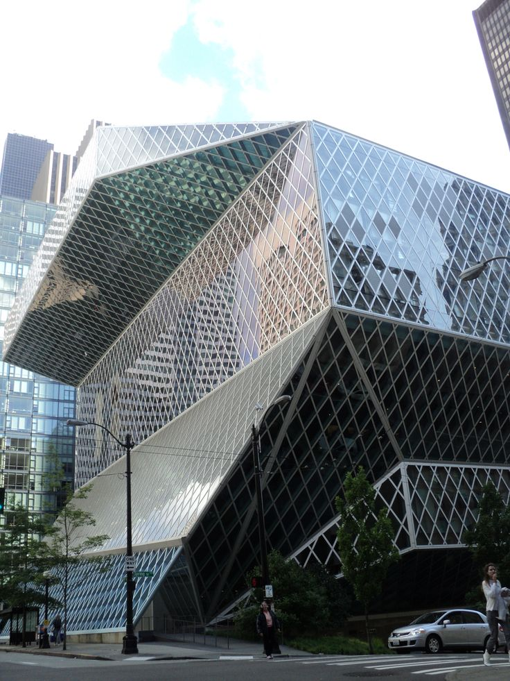 1000 images about seattle central library by rem koolhaas and oma on pinterest architecture. Black Bedroom Furniture Sets. Home Design Ideas