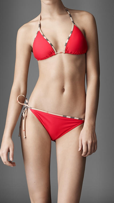 Burberry swimsuit? yes please!